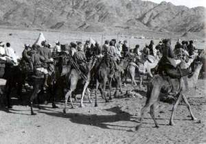 Arab attachment to the British Army