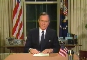 George Bush 1991 - Liberation of Kuwait
